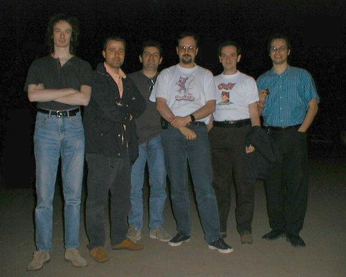 Il Gruppo alla prima GUFICon